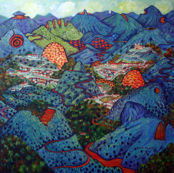 2011-Paisagem imaginaria com montanhas cortadas-oleo04
