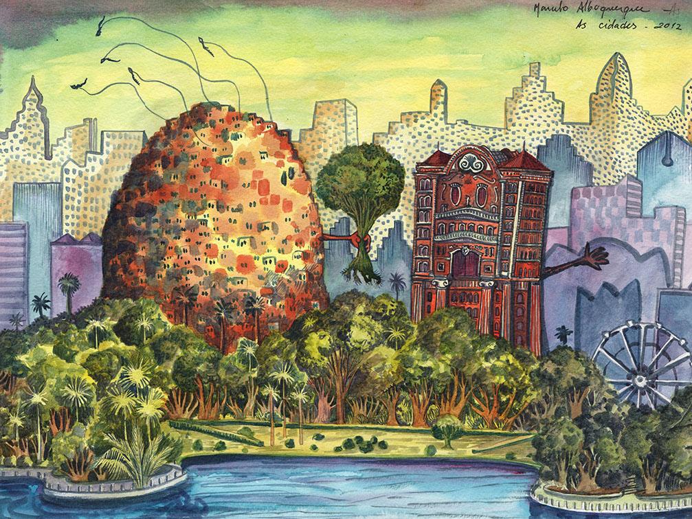 2012-as cidades-cartum-aquarela-27x36-1