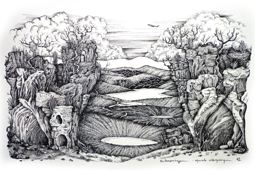 2012 - paleopaisagem-nanquim-38x55-01