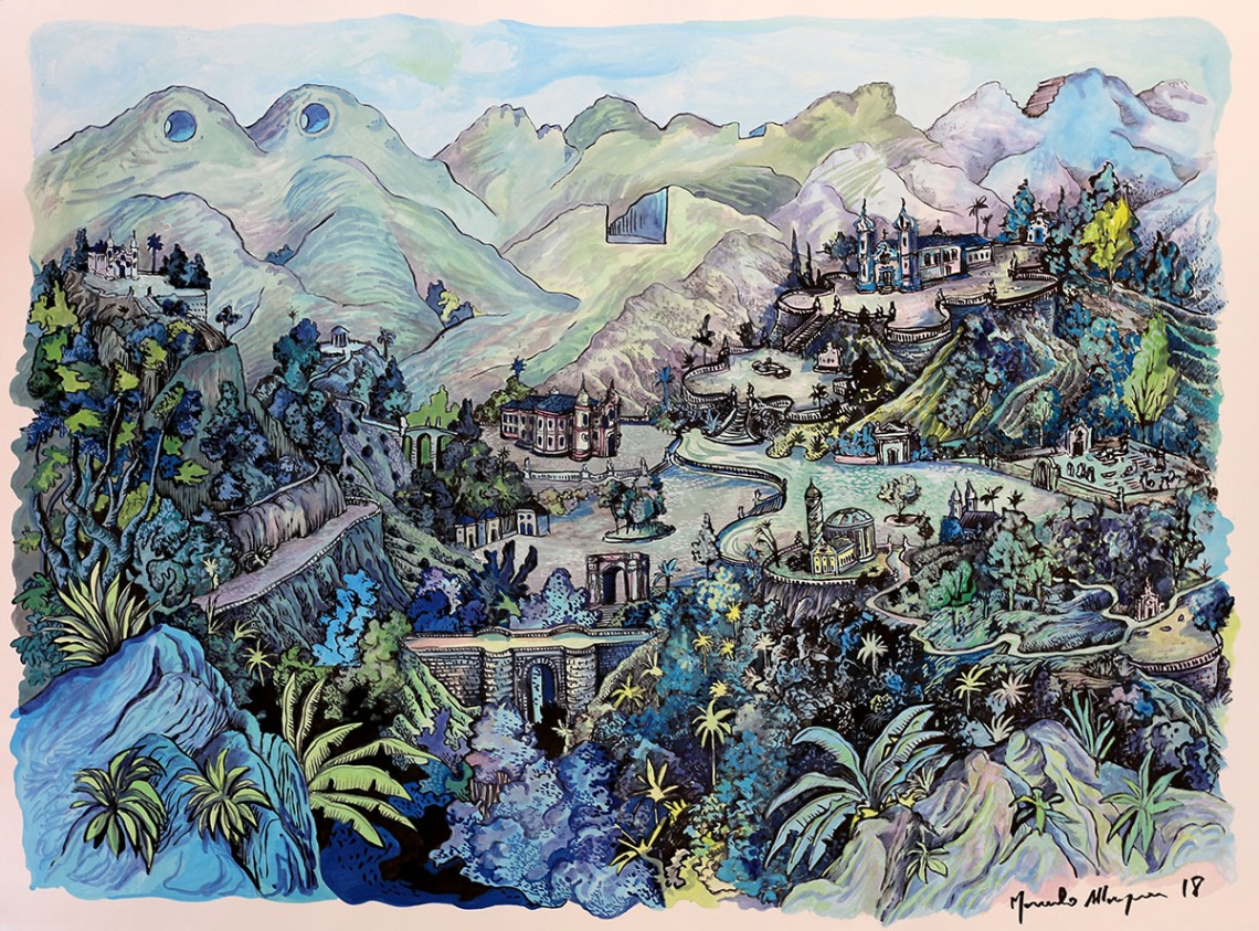 2018 - Sacromonte - guache e nanquim - 57 x 76 cm.jpg