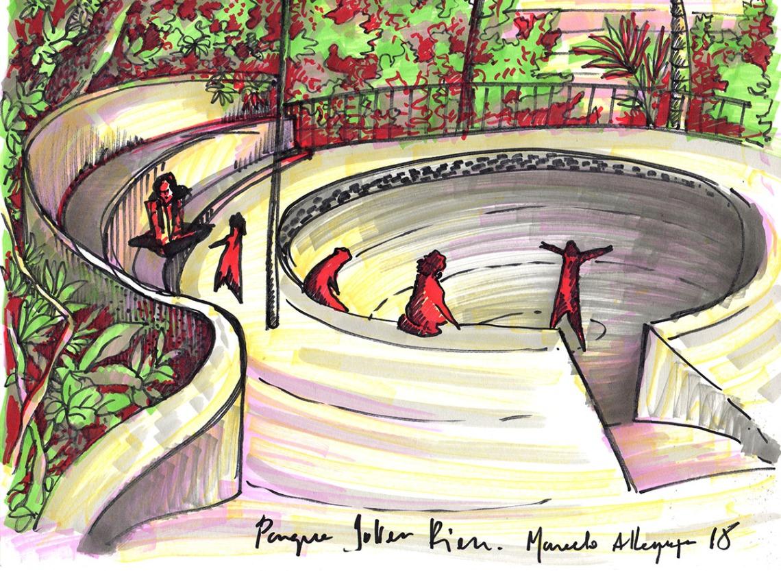 2018 - Parque Julien Rien - caneta marcador 21 x 29 cm.jpg