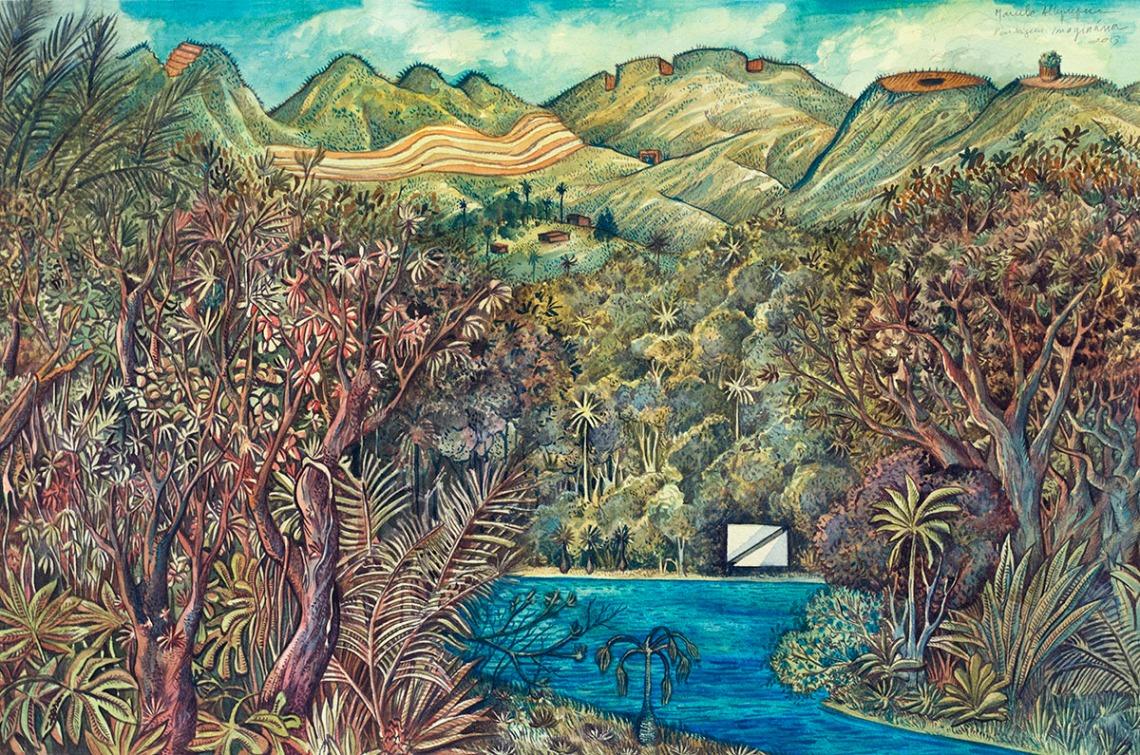 2013-paisagem imaginária-aquarela-385x575cm